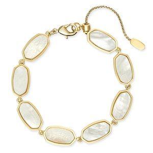 Kendra Scott Millie Bracelet In Ivory Pearl